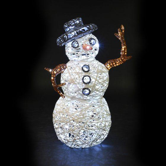 bonhomme de neige - personnages lumineux noël