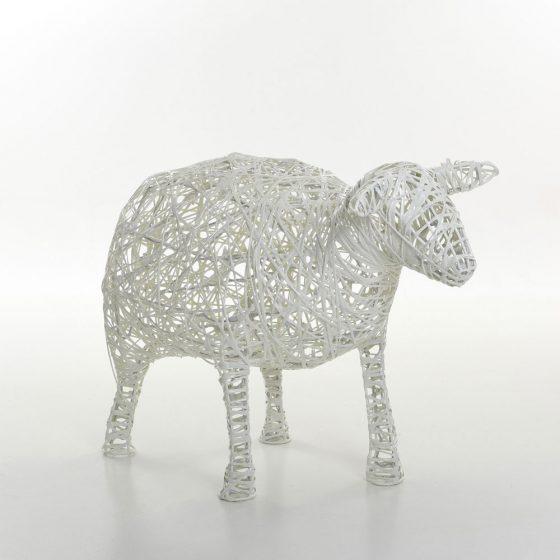 Mouton, structure 3D, fibre minérale