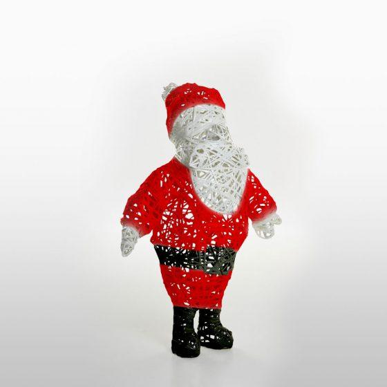 Père Noël, structure 3D, fibre minérale